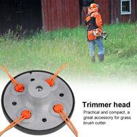 Universal 4 Line Bump Speed Feed String Trimmer Head Gasoline Mower Brush Cutter