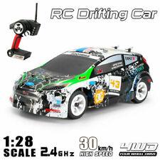 WLtoys 1:28 4WD 2,4G 30km/h Fernbedienung RC Auto Drift Rennwagen Spielzeug Car
