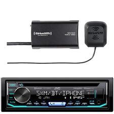 JVC Single DIN Bluetooth CD/AM/FM Stereo, SiriusXM Satellite Radio Tuner
