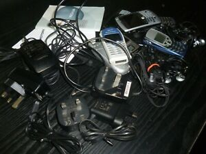 Various Mobile Phones, Chargers and Headphones