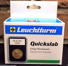 5 Lighthouse QUICKSLAB Coin Holder 40mm ASE American Silver Eagle Case Slab