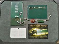 ACCESSORI BOOKLET ROLEX SUBMARINER ANNO 2001 CH