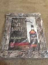Jim Beam Maple Bar Mirror Sign Kentucky Straight Bourbon Whiskey NOS!