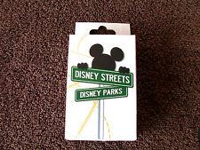 Disney * STREETS - MICKEY & FRIENDS - STREET SIGNS * New 2-Pin Mystery Box
