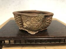 Accent Or Mame Sized Bonsai Tree Pot Made By Tani Ranzan 3""
