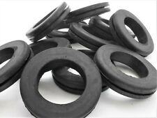 """Rubber Grommets for 1 1/2"""" panel hole. 1 1/8"""" ID, 1 7/8"""" OD, Fits 1/16"""" Panel"""