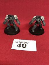 LOT 40 Warhammer Plastic Chaos Marine terminators Figures OOP 40K 40,000 GW