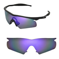 New Walleva Polarized Purple Rplacement Lenses For Oakley M Frame Hybrid