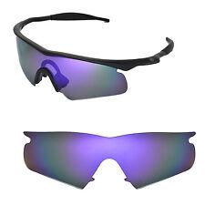 New Walleva Polarized Purple Rplacement Lenses For Oakley M Frame Hybrid