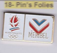 Pin's Folies Badge Albertville Olympic winter games 1992 Meribel