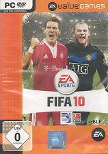 PC DVD-ROM + EA Sports + FIFA 10 + Fussball + Team + Mannschaft + XP/Vista