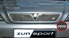 ZunSport Vauxhall / Opel Astra G MK4 2001-04 Polished Steel Mesh Top Grille Set