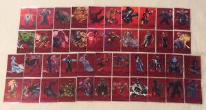 2013 Marvel Retro Precious Metal Gems PMG Red Gem Comic Card Singles You Choose