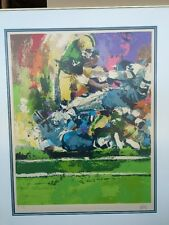 "Wayland Moore Lithograph Artist Proof ""Football"" Print Art Signed"