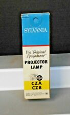 SYLVANIA CZA / CZB 120V--500W PROJECTOR LAMP 25 HRS BLUE TOP NEW OLD STOCK USA