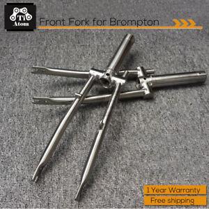 Ti Atom/ Titanium Front Fork for Brompton