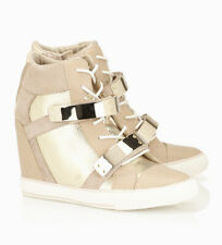 Aldo Nude/Gold Haerani Wedge Sneakers