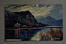 R&L Postcard: Derwentwater by Jotter, Hartmann Aquarelle, Ribet's Chocolates Ad