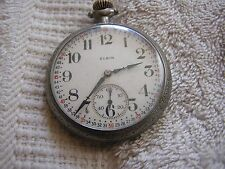 Antique Elgin Pocket Watch with Nice Dial