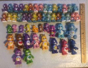 Huge Lot Of Vintage Care Bear Figures!! 51 Figures!!