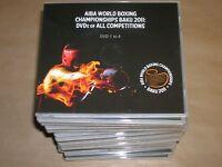 LOT 66 DVD RARES / CHAMPIONNAT DU MONDE DE BOXE BAKOU 2011 / TOUS LES MATCHS