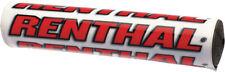Renthal SX Handlebar Pad White/Red 10 P263