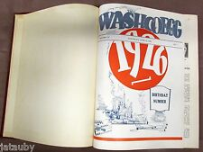 VERY RARE 1926 - 27 WASHCOEGG WASHINGTON POULTRY BOOK egg farm ads truck vintage