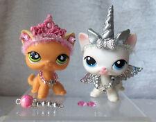 Littlest Pet Shop LPS  Lot of 7 Unicorn  & Princess Custom Accessories