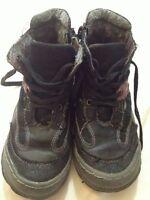 Via Dante - Scarpe alte da bambino - n° 29 - colore nero - cerniera e stringhe -