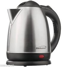 1.5L Stainless Steel Electric Cordless Tea Kettle 1000W (Brushed) KT-1780