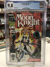 MOON KNIGHT V2 #1 (Marvel Comics, 1985) CGC Graded 9.8 ~ WHITE Pages
