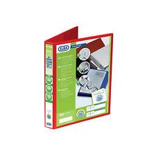 Elba Panorama A4 XL D Ring 25mm Capacity Presentation Binder RED Folder