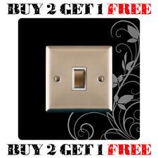 Black Light Switch Surround Finger Plate, Ivy - FREE UK POSTAGE