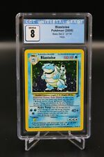 Pokemon Blastoise Holo 2/130 – Base Set 2 – CGC 8 NM/Mint