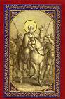 SANTINO SAN LUPO IMAGE PIEUSE - HOLY CARD- Heiligenbild