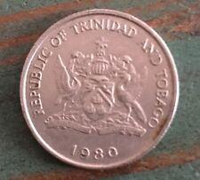 1980 Republic of Trinidad and Tobago 25 Cents Coin