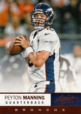 2012 Absolute Football Peyton Manning Quarterback Denver Broncos Card #42
