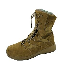 Reebok Mens Sublite Cushion Tactical Work Boots Military Shoes Sz 12 Nice