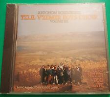 NEW Avrohom Rosenberg's Tzlil V'zemer Boys Choir CD It's Never Too Late Vol 6