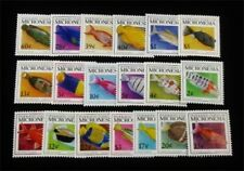nystamps British Micronesia Stamp # 301-319 Mint Og Nh $28 J15y3198
