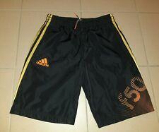 Jungen Sporthose Shorts ADIDAS Modell F50 schwarz/gold/orange Gr.164/170 NEUw