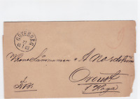 goteborg 1865 stamps cover ref r15870