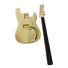 Buy guitar diy project kits supplies ebay gd108 coban pb bass body electric guitar diy kits ebony fingerboard freerunsca Images