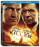 HUNTER KILLER (Blu-ray + DVD + Digital) Gerard Butler Always Free Shipping