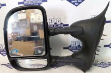 02-07 FORD F250 SUPER DUTY LEFT TRAILER TOW TELESCOPING MANUAL MIRROR, OEM