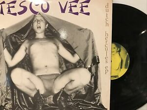 Tesco Vee & The Meatkrew – Dutch Hercules EP 1984 Touch And Go – T&G 012 VG+/VG+