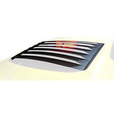 Mustang Rear Window Louvers Black Aluminum 2015-2018 Fastback