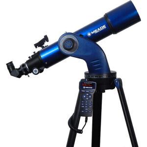 Meade Astronomy Telescope Star Navigator NG 102mm Aperture Mount Tripod 218002
