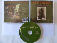 CD Album DAN HICKS & HIS HOT LICKS Original recordings FLOATM6211