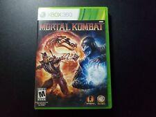 Mortal Kombat Original Sortie Microsoft Xbox 360 Ex État Complet